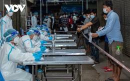 Số ca Covid-19 ở Campuchia lại phá kỷ lục, chính phủ hỗ trợ lương thực khẩn cấp