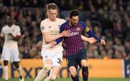 Sao M.U bị Messi hiểu lầm, suýt không được đổi áo