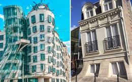 """18 ngôi nhà có kiến trúc ngang ngược """"xoắn não"""" người nhìn, đi ngang qua 100% phải dừng lại check-in"""