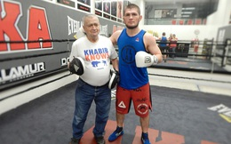 Khabib Nurmagomedov và câu chuyện cải thiện khả năng đánh đứng với ông thầy 80 tuổi
