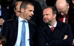 Chủ tịch UEFA mắng Ed Woodward và Agnelli là rắn độc