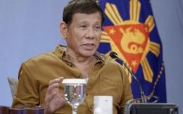 """Ông Duterte đe dọa cử tàu chiến tới Biển Đông, """"cạnh tranh đẫm máu"""" với Trung Quốc"""