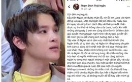 """Phạm Đình Thái Ngân lên tiếng hành động """"nụ hôn tình bạn"""", bình luận của nữ chính hút chú ý"""