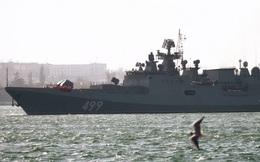 Nga điều 20 tàu chiến cùng các cường kích Su-25SM3tập trận tại Biển Đen