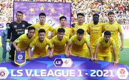 Toàn thắng đến hết V-League 2021, Hà Nội FC chưa chắc vô địch