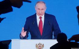 Tổng thống Nga Vladimir Putin đọc diễn văn Thông điệp liên bang 2021