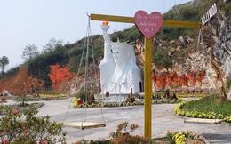 """Tượng nữ thần tự do phiên bản """"đột biến"""" ở Sa Pa: Xây dựng để mong níu chân du khách"""