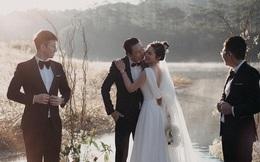 Bộ ảnh 20 năm ngày cưới 'hút' nghìn like: Đã đẹp lại có nhà tài trợ trọn gói!