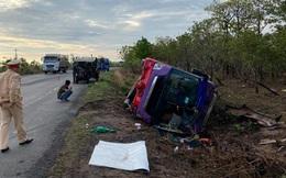 31 người bị thương khi chiếc xe khách lật trên đường Hồ Chí Minh
