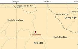 Chuyên gia lo ngại động đất liên tiếp ở Kon Tum
