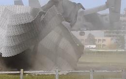 Máy bay quân sự Mỹ phá nát cơ sở vật chất một bệnh viện Anh