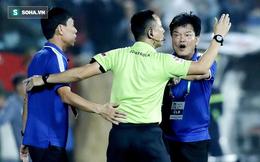 Liên tục nhận thẻ vì phản ứng trọng tài, HLV Nam Định nhận án cấm chỉ đạo từ VPF