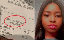 Cô gái đăng ảnh tờ hóa đơn uống nước, chỉ bởi đúng một dòng chữ nhỏ lại hút hơn nửa triệu like và gây tranh luận gay gắt khắp MXH