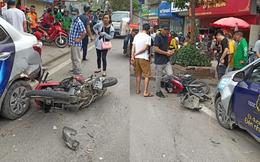 Vụ tai nạn liên hoàn nghiêm trọng trên phố Hà Nội: Xe bán tải đâm 3 ô tô, 2 xe máy