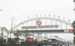 Chủ tịch Hà Nội làm Trưởng Ban chỉ đạo đưa 5 huyện lên quận