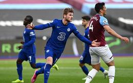 West Ham 0-1 Chelsea: Derby màu xanh