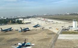 Sét đánh vỡ đường băng sân bay Tân Sơn Nhất
