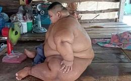 """Bi kịch của cậu bé béo nhất Thái Lan: 13 tuổi đã nặng 200kg, từ bé bị ép ăn cho """"chóng lớn"""" và hậu quả đáng thương gây ám ảnh"""