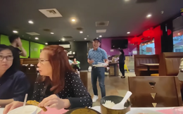 Hoài Tâm bị bắt gặp chạy bàn tại Mỹ: Tôi đâu có sung sướng như Thúy Nga, được ngồi ăn nhà hàng