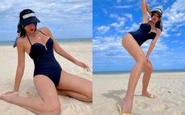 """Minh Triệu tiết lộ bí mật đằng sau những bức ảnh bikini nóng """"bỏng mắt"""""""