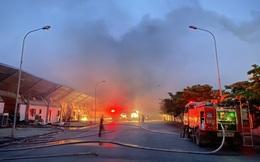 Cháy lớn tại Công ty TNHH Doosan ở Hải Dương