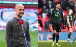 """Pep Guardiola """"rửa hận"""" cho Mourinho, Son Heung-min lại ôm mặt khóc nức nở"""