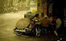Ngày đầu tuần mưa đều trên cả nước, tiết trời mát mẻ
