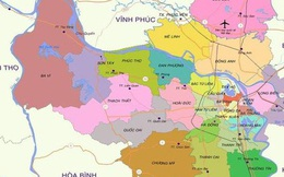 3 huyện Thanh Oai, Thường Tín, Mê Linh dự kiến lên quận vào 2026-2030