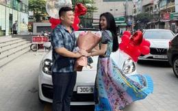 Danh tính cô dâu hotgirl được chồng tặng siêu xe hơn 7 tỷ làm quà cưới khiến tất cả bất ngờ: Hóa ra người quen