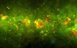 Hàng loạt quả cầu vàng xuất hiện khắp dải Ngân Hà: Sự thật bất ngờ!