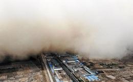 """Một tỉnh Trung Quốc chứng kiến cảnh tượng """"bầu trời ngày tận thế"""""""