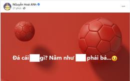 """Cựu thủ môn U23 Việt Nam văng tục, ám chỉ cầu thủ Nam Định FC """"câu giờ""""?"""