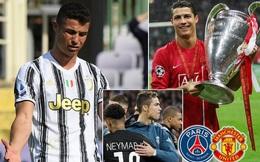 "MU và PSG tranh nhau ""giải cứu"" Cristiano Ronaldo khỏi Juventus"