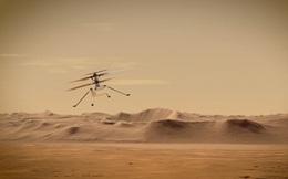 NASA công bố video trực thăng Ingenuity bay trên sao Hoả nhanh chưa từng thấy