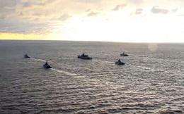 Nga tập trận bắn đạn thật tại Biển Đen khi tàu tuần duyên Mỹ tiến vào khu vực