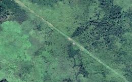 """Phát hiện """"con đường buôn lậu"""" ở Guatemala bằng Google Maps"""