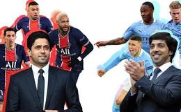So độ giàu ông chủ của PSG và Man City, ai hơn ai?