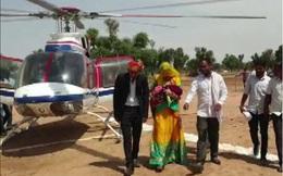 35 năm gia đình mới chào đón 1 cháu gái, ông bà mạnh tay thuê hẳn trực thăng để đón về