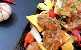 Cách làm sườn xào chua ngọt kiểu Trung Hoa khiến bạn mê mẩn