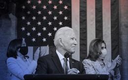 """Toàn văn bài nói trước Quốc hội Mỹ của ông Biden: 100 ngày đầu rực rỡ dẫn bước Mỹ """"lột xác"""" làm chủ tương lai"""
