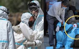 """Những hình ảnh nhói lòng nhất tại Ấn Độ: Tất cả đều đã kiệt quệ khi dịch bệnh giết người """"hung hãn"""" hơn cả súng đạn"""