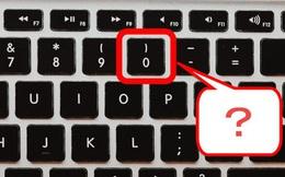 Tại sao số ''0'' trên bàn phím nằm ''bên phải số 9'' thay vì ''bên trái số 1''?