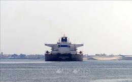 Kênh đào Suez sắp giải tỏa hoàn toàn tình trạng ùn tắc