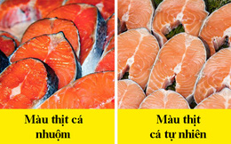 8 dấu hiệu nhận biết để chọn mua cá tươi ngon: Cá hồi màu đẹp không hẳn đã tốt