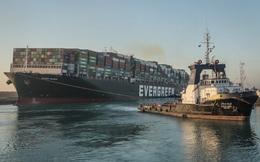 """Hàng hóa tắc nghẽn từ vụ kẹt tàu ở kênh đào Suez, tập đoàn Trung Quốc """"hứng trọn"""" lộc lớn"""