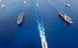 """Pháp dẫn dắt cuộc tập trận với """"Bộ tứ"""" để thách thức Trung Quốc"""