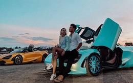 Bạn gái Bùi Tiến Dũng đẹp không tỳ vết, tạo dáng đầy thần thái bên siêu xe triệu USD