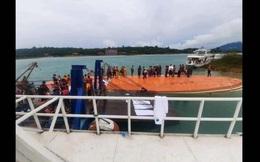 Lật tàu du lịch tại Lào làm 8 người tử vong