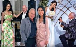 Người mẫu Việt yêu tỷ phú Mỹ U80: Phải bán vé số, lượm ve chai và một bước thành bà hoàng
