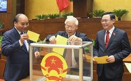 Chi tiết tỷ lệ phiếu bầu tân Chủ tịch nước Nguyễn Xuân Phúc và tân Thủ tướng Phạm Minh Chính